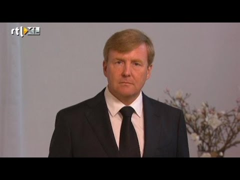 Koning: 'Diepe wond in onze samenleving' - RTL NIEUWS