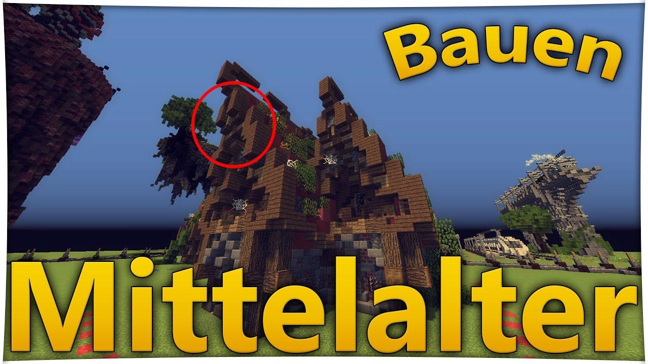 Minecraft Mittelalter Haus Bauen DEUTSCH Tutorial Für Stadt - Minecraft haus bauen tutorial deutsch mittelalter