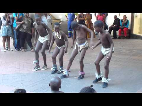 African dance, children - South Africa (Cape Town)