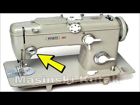 Pfaff 40 Pfaff 40 Tension Assembly Sewing Machine YouTube Impressive How To Assemble Sewing Machine