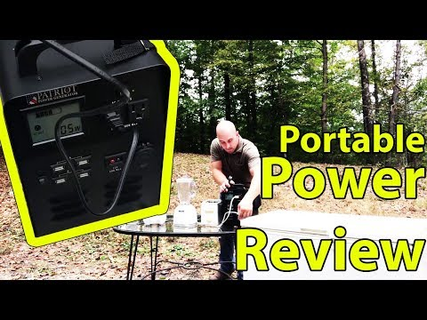 Portable Solar Patriot Power Generator for Home Review / Kit Tutorial / For Sale