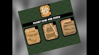 ROBLOX BEYOND NRPG | MAGNET/SAND MINI REVIEW