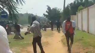Dss Shoot At Freesowore Protesters In Abuja