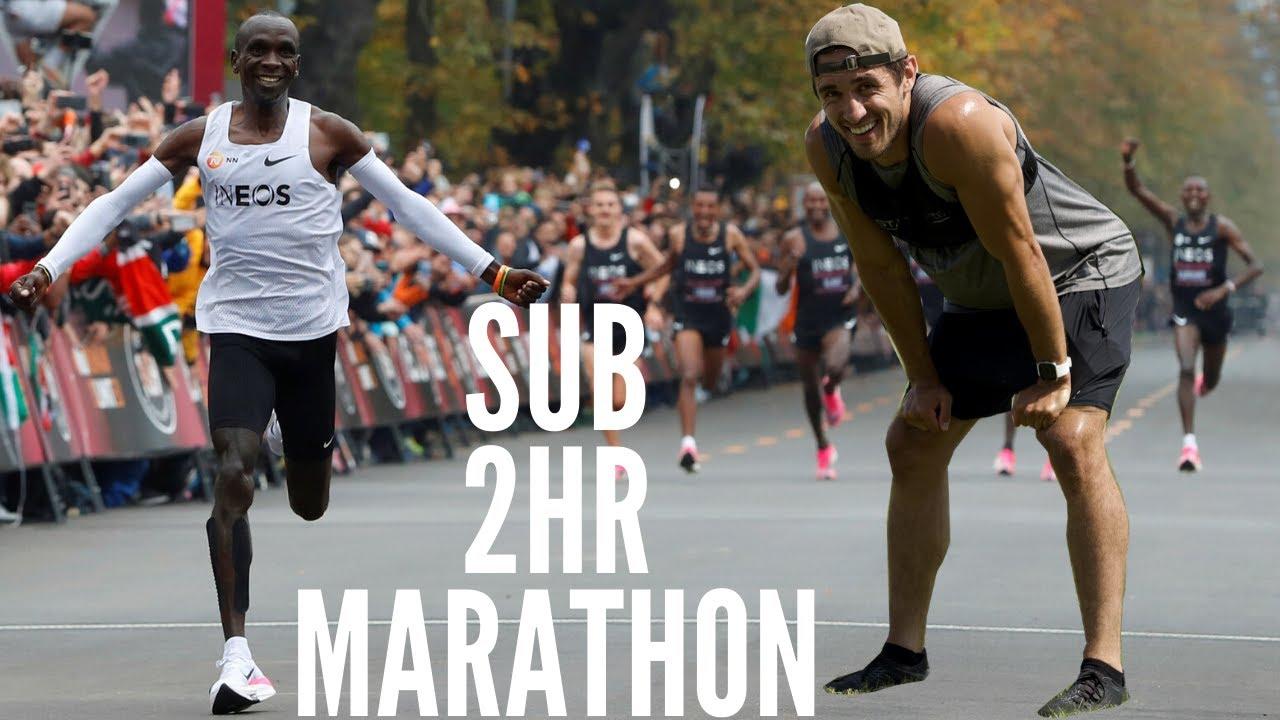 Running World Record Sub-2Hour Marathon Pace like Eliud Kipchoge | Greg O'Shea