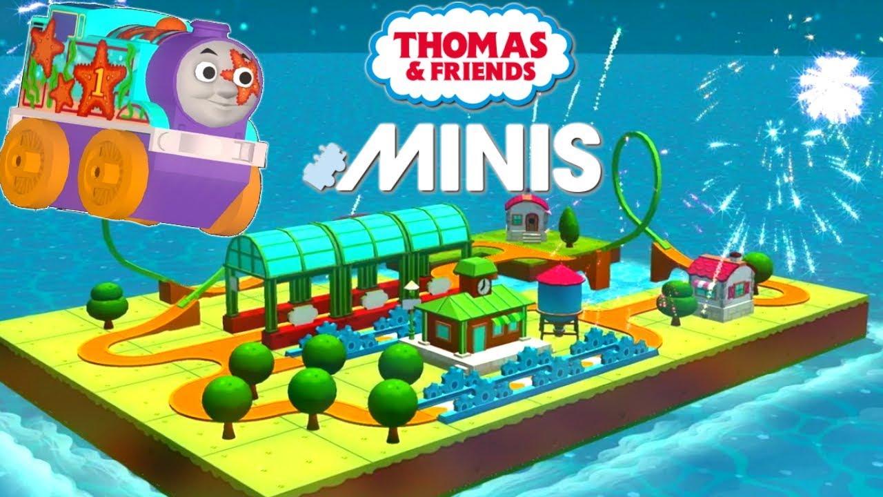 Thomas and Friends Minis Ready Set Build Train table Island of Sodor  sc 1 st  YouTube & Thomas and Friends Minis Ready Set Build Train table Island of Sodor ...