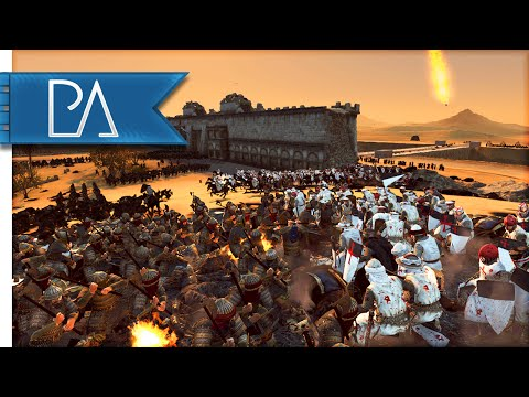 BLOODY JERUSALEM SIEGE - Medieval Kingdoms Total War 1212AD Gameplay