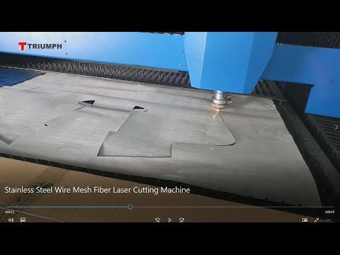 Fiber Laser Cutting Machine For Stainless Steel Wire Mesh