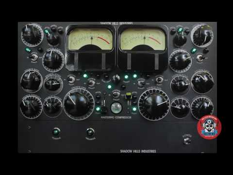 Shadow Hills Mastering Compressor In Action