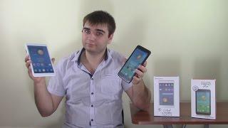 Alcatel Pixi 7 и Alcatel Pixi 8 обзор планшетов
