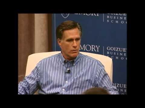 Romney - Wall Street, Greed, Profit Motive, Executive Pay