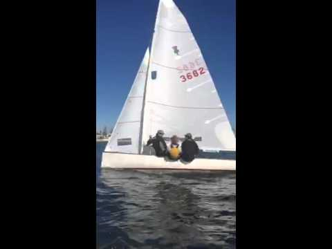 Thistle Midwinters West Sail Tuning Session Part 3