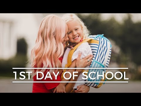 LUCY'S FIRST DAY OF SCHOOL! || Devine Family Vlog