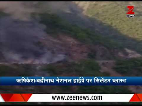 Truck blast at Rishikesh Badrinath highway, suspends Char Dham Yatra