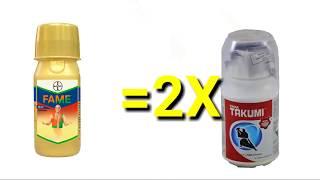 Fame v s takumi Bayer fame  tata takumi insecticide कीटनाशक की जानकारी