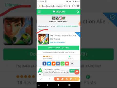 (X Apk) How To Download Ben 10 Cosmic Destruction Alie... (2020)