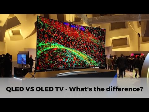 QLED VS OLED TV:   What's the difference?
