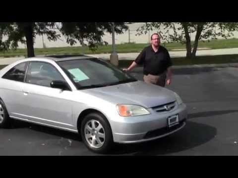 Used 2003 Honda Civic EX Coupe for sale at Honda Cars of Bellevue...an Omaha Honda Dealer!