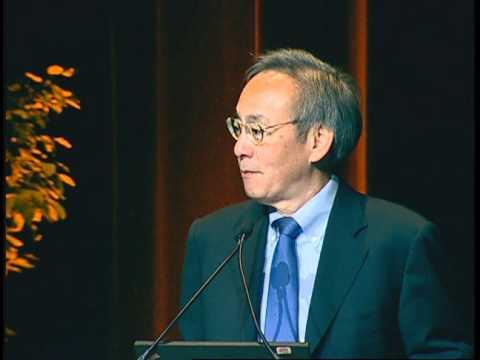 U.S. Secretary of Energy Steven Chu at WREF 2012
