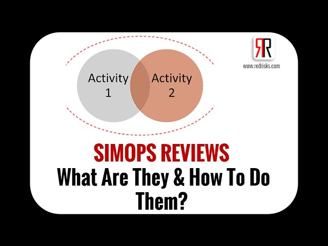 SIMOPS Reviews: What are they and How to do them?