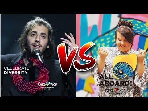 Eurovision 2017 VS 2018 - Songs Battle