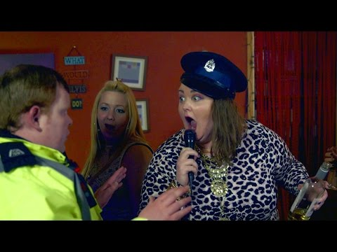 Ken Beattie (James Allenby-Kirk) sings karaoke - Scot Squad