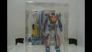 GN-U DOU Space Warrior Baldios Yamato Figure Model Unboxing