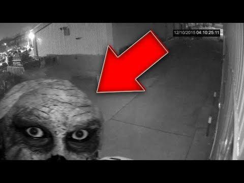 5 паранормальных вещей, заснятых камерами безопасности Часть 2