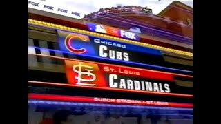 23 - Cubs at Cardinals - Saturday, April 28, 2007 - 2:55pm CDT - FOX