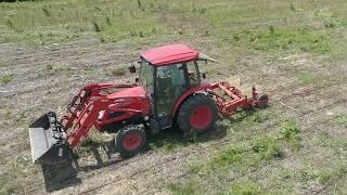 Project 211 DRONE tour; planting corn food plots & more, PART 2 06-08-18