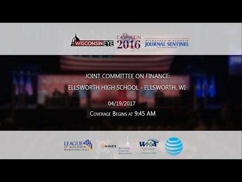 Joint Committee on Finance - Ellsworth, WI