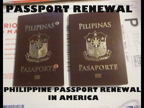 PHILIPPINE PASSPORT RENEWAL IN AMERICA I RENEWAL OF PASSPORT IN OUTREACH PROGRAM