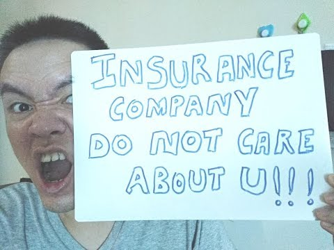 Insurance Company Really Don't Care About You 😥 (but Why ⁉️)