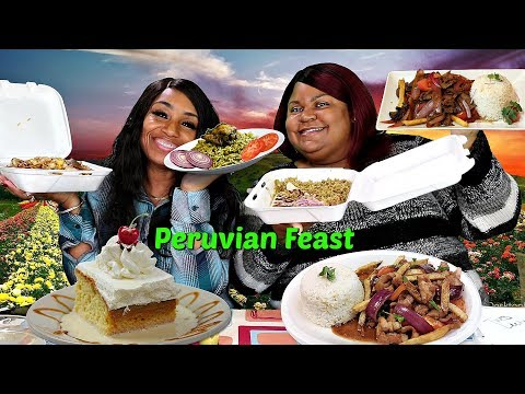 Peruvian Feast with a subscriber (Blovelee) Cathy from Chef Paz Restaurant in Milwaukee Wisconsin