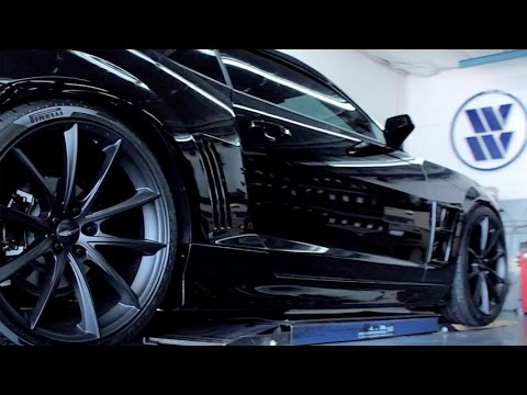 Ace Alloy Wheels - Convex Chevy Camaro SS Convertible Video