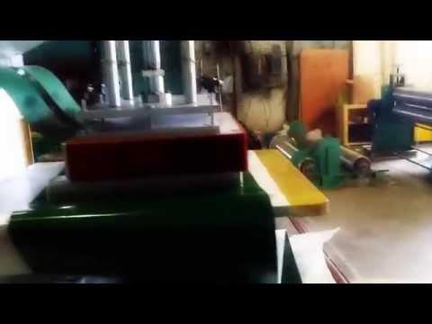 Присоединение перегородок к конвейрной ленте