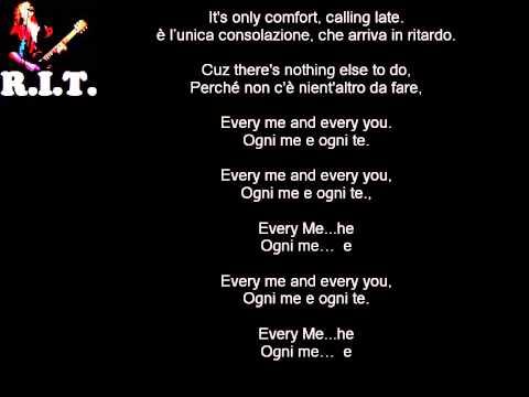 Every You Every Me - Placebo con testo e traduzione