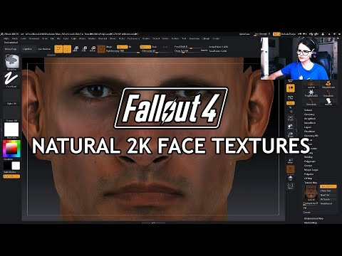 Natural 2K Face Textures at Fallout 4 Nexus - Mods and community