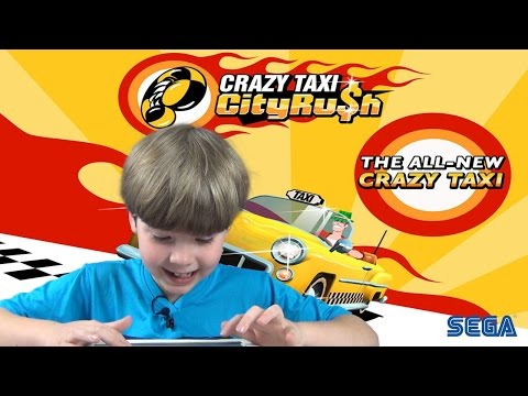 DRIVING A CRAZY TAXI | Mobile Games | KID Gaming