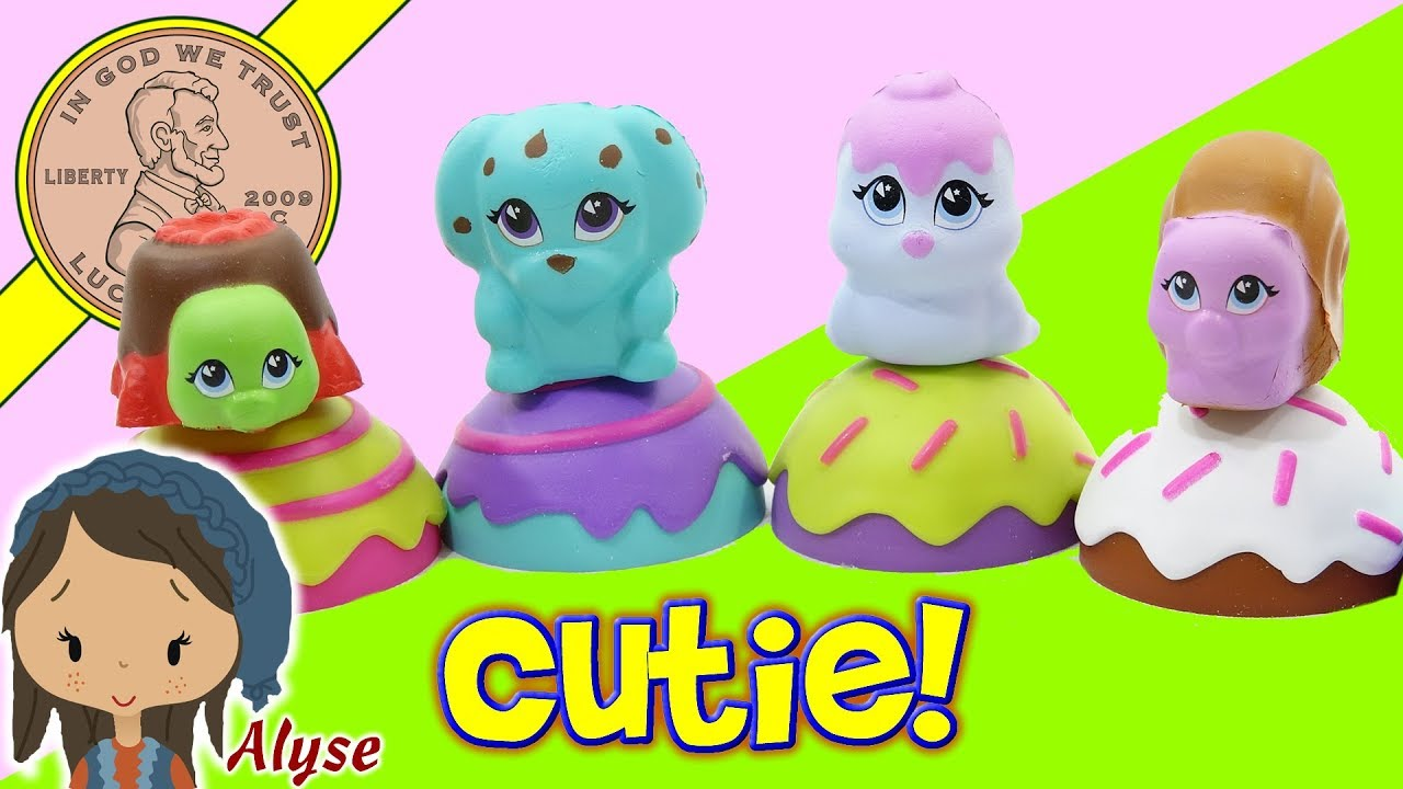 Squishy Cake Pop : CakePop Cuties - Sweet, Squishy & Deliciously Cute - Single Cake Pops - YouTube