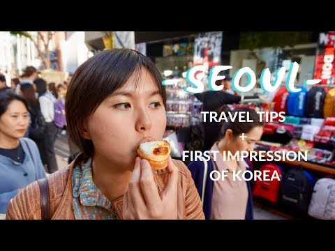 TRAVEL VLOG // 2 Days in SEOUL & KOREA Impression + Travel Tips