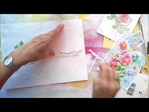 Recycling Greeting Cards for Journals