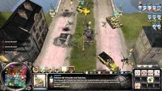 Company of Heroes 2 - Chronic River 4x4 - British Forces 1080p PC Gameplay