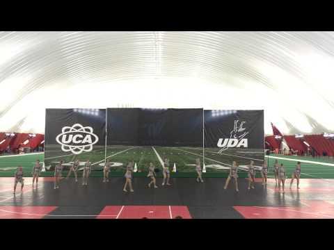 University of Northern Iowa Dance Team - UDA Home Routine 2015