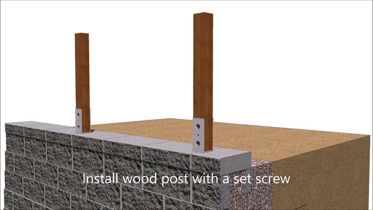Fence Post Wall Plates Attach To Wall Or Post Jacksons Fencing