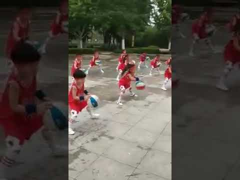 Basketball dance by children!!!! Talented children with their amazing performance!!!
