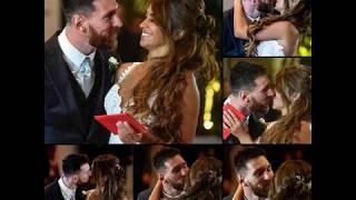 LEO MESSI marries childhood sweetheart ANTONELLA ( wedding of the century)  True love exists