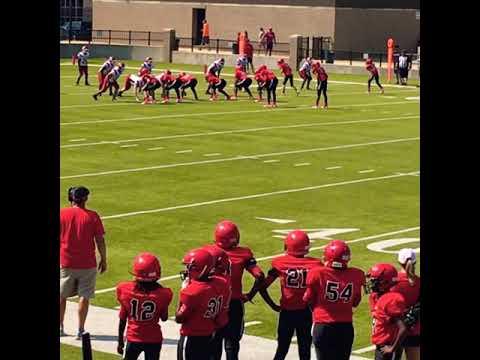 Future starJarrious Goodman #3 QB Opelika Middle School 8th grade team