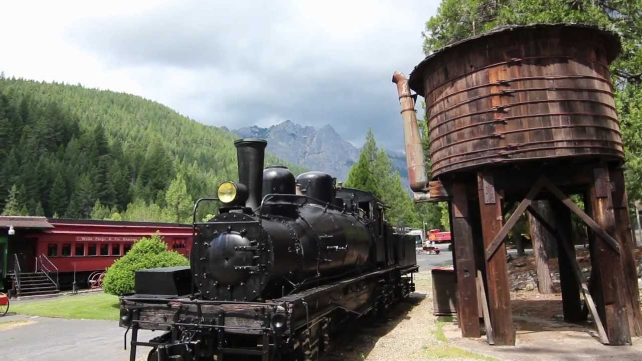Mt Shasta Ca >> Railroad Park Resort - Dunsmuir, CA - YouTube