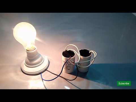 make free energy with electric motor capacitor output 230 volt thumbnail