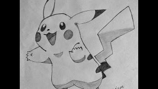 How to Draw Pikachu Step by Step | Pokemon Go |easy pencil drawing